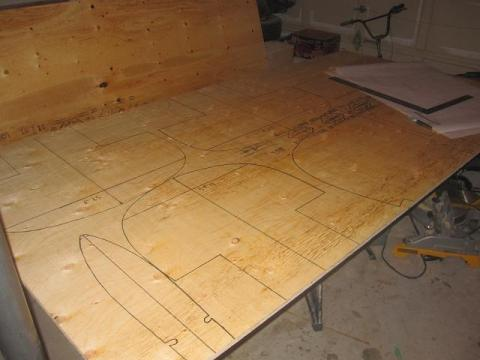 canoe building: tracing station forms