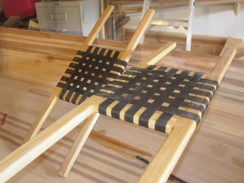 nylon mesh canoe seat