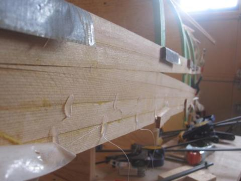 stripping a cedar strip canoe