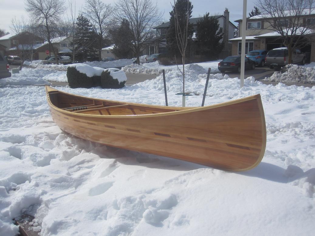 Cedar strip kayak cost really